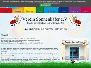 Vorschaubild der Webseite Kindertagesstätte Am Schacht