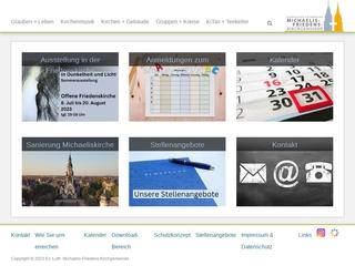 Vorschaubild der Webseite von Kindergarten in der Michaeliskirche