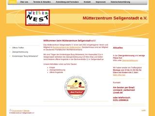 Vorschaubild der Webseite von Weibernest - Mütterzentrum Seligenstadt e.V.