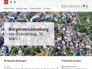 Vorschaubild der Webseite von Familienbüro Heusenstamm