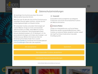Vorschaubild der Webseite Jugend- und Gemeindezentrum Claußnitz