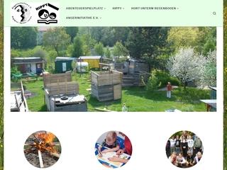 Vorschaubild der Webseite von Hort unterm Regenbogen