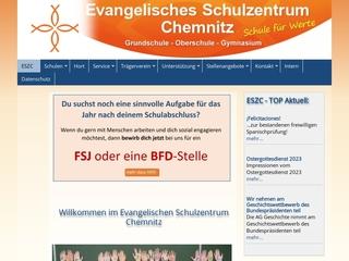 Vorschaubild der Webseite von Evangelisches Schulzentrum Chemnitz - Mittelschule
