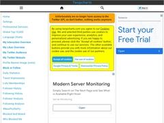 Herramientas Twitter - Twopcharts Overview