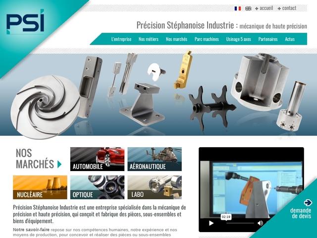 P.S.I sas - (42)# -Usinage CNC-CU -Outillages -Mach Spéc