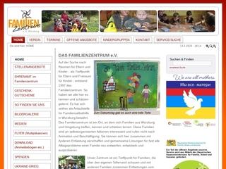 Vorschaubild der Webseite von Familienzentrum Würzburg e.V.