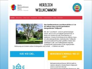 Vorschaubild der Webseite von Familienzentrum Leuchturm Brilon