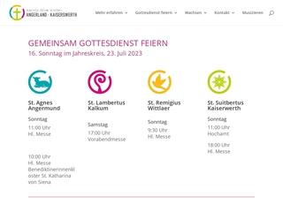 Vorschaubild der Webseite Katholisches Montessori-Kinderhaus St. Suitbertus