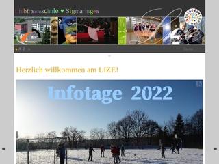 Vorschaubild der Webseite Liebfrauenschule Sigmaringen