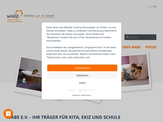 Vorschaubild der Webseite Kindertagesstätte Farbenspiel