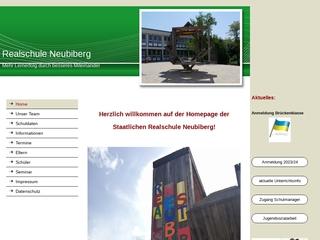 Vorschaubild der Webseite von Realschule Neubiberg