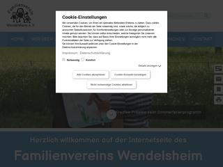 Vorschaubild der Webseite von Familienzentrum Wendelsheim e.V.