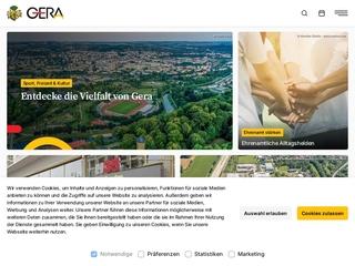 Vorschaubild der Webseite Jugendclub CM