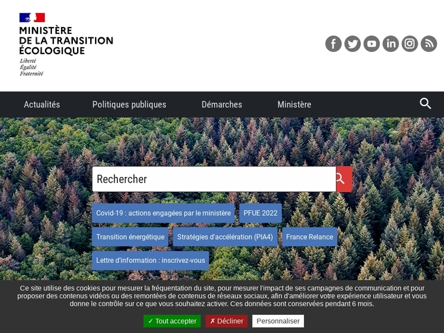 Education et sensibilisation - Ministère du Développement durable