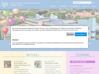 Vorschaubild der Webseite Gesamtschule Göttingen-Geismar
