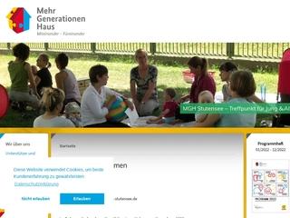Vorschaubild der Webseite Familienzentrum Kult Café Friedrichstal