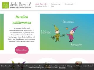 Vorschaubild der Webseite von Frauen- und Mütterzentrum Arche Nora e.V.