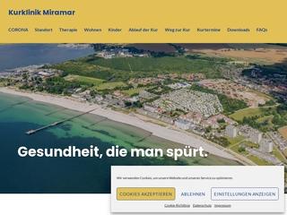 Vorschaubild der Webseite Mutter-Vater-Kind-Kurklinik Miramar