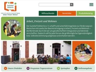 Vorschaubild der Webseite von Gutshof Stötteritz e. V. - Tageszentrum