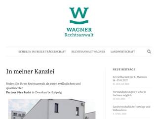 Vorschaubild der Webseite von Rechtsanwalt Alexander Wagner