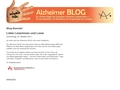 Alzheimer-Blog