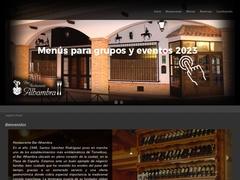 Restaurante - Restaurante Bar Alhambra, Tomelloso, España