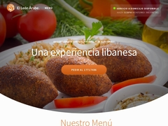 Restaurante Comida Internacional -  El León Árabe