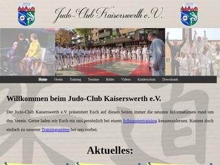 Vorschaubild der Webseite von Judo Club Kaiserswerth e.V.