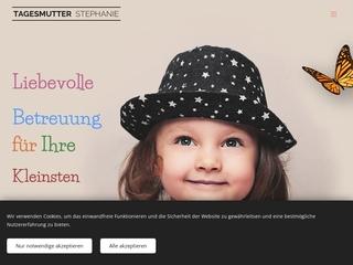 Vorschaubild der Webseite von Tagesmutter Stephanie Krämer