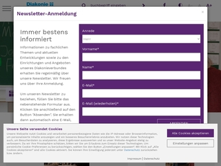 Vorschaubild der Webseite Kindergarten Johannes Falk