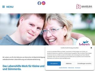 Vorschaubild der Webseite Integrative Kindertagesstätte Hufeland