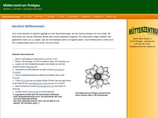 Vorschaubild der Webseite von Frauenzimmer Rodgau, Mütterzentrum e.V.