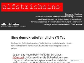 Vorschaubild der Webseite Praxis für Mediation und Recht Roland Hoheisel-Gruler