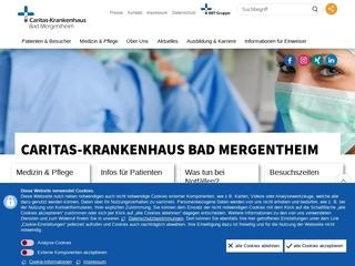 Vorschaubild der Webseite Berufsfachschule für Pflegeberufe