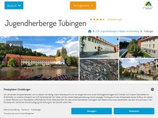 Vorschaubild der Webseite Jugendherberge Tübingen