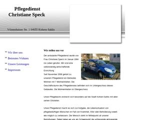 Vorschaubild der Webseite von Häusliche und ambulante Krankenpflege