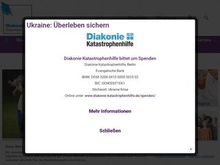 Vorschaubild der Webseite Diakonie Villa Kunterbunt