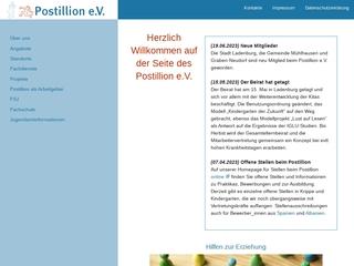 Vorschaubild der Webseite Kinderhort in Rauenberg
