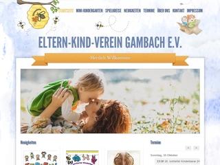 Vorschaubild der Webseite von Eltern-Kind-Verein Gambach e.V.