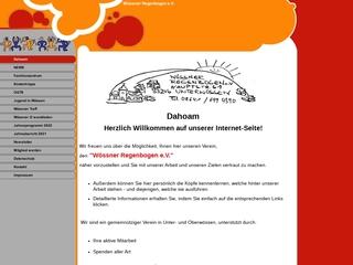 Vorschaubild der Webseite von Wössner Regenbogen e.V.
