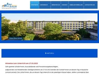 Vorschaubild der Webseite Berufliches Schulzentrum 12 Robert Blum - Berufsbildende Förderschule