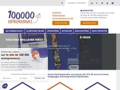 100000 entrepreneurs - Transmettre la culture d'entreprendre