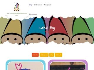 Vorschaubild der Webseite Kindergarten Zwergenland am Birkenwald