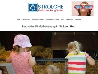 Vorschaubild der Webseite von Kindertagesstätte Strolcheburg