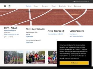 Vorschaubild der Webseite Leichtathletik- und Wandersportverein Geringswalde e.V.