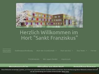 Vorschaubild der Webseite Hort St. Franziskus