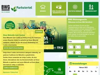 Vorschaubild der Webseite BWG Erlebnishaus
