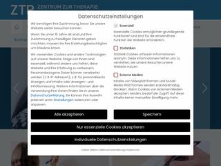 Vorschaubild der Webseite Zentrum zur Therapie der Rechenschwäche Halle