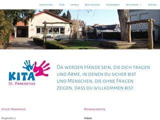 Vorschaubild der Webseite Kindergarten St. Pankratius