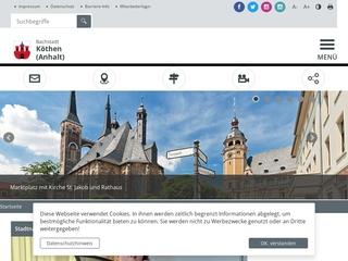 Vorschaubild der Webseite Stadtbibliothek